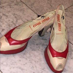Authentic Miu Miu Sandals